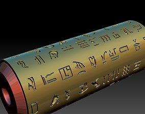 pharaoh bread roll making 3D print model