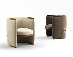 3D model Giorgetti Opus armchair