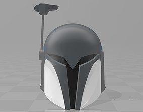 3D print model star wars clone wars nite owl bo katan 1