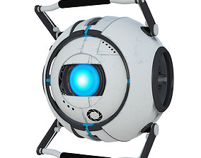 3D rigged Wheatley