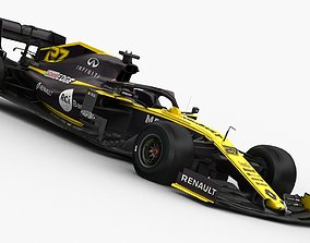 F1 Renault RS19 2019 3D model