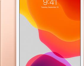 Realistic apple new ipad space gold 3D model 3D print