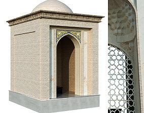 old seljukian style tomb set 141 3D asset