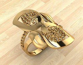 gem 3D print model RING 161