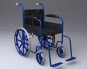 Wheelchair 3D handicap