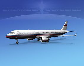 3D Airbus A321 Corporate 6