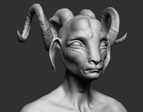3D model The Goat
