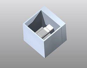3D printable model Cube Wall Lamp