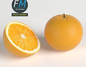 3D model PBR Oranges