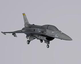General Dynamics F-16 Block 70 3D model