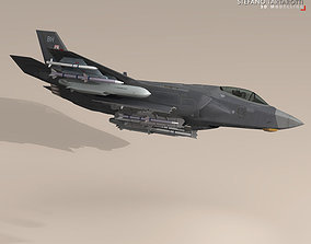 3D model F35A - Royal Air Force