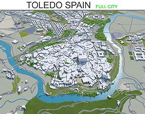 Toledo Spain 25km 3D model