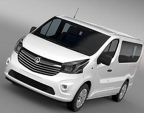 Vauxhall Vivaro Biturbo 2017 3D model