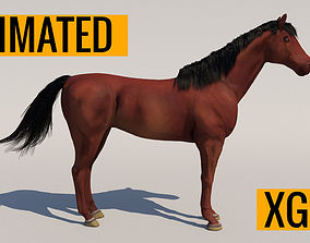 3D model Animated Horse animated