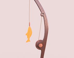 fishing rod games 3D printable model