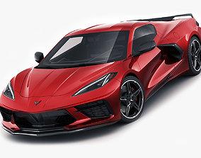 3D model Corvette C8 2020