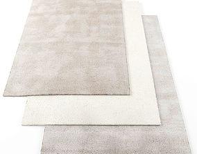 3D model low-poly Asiatic aran rugs