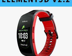 E3D - Samsung Gear Fit2 Pro model