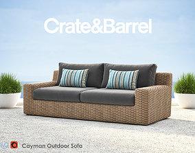 3D Cayman Outdoor Sofa