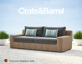 3D Cayman Outdoor Sofa
