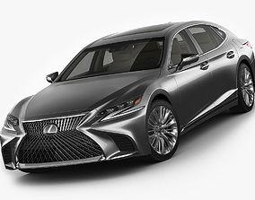 Lexus LS500 2018 3D model