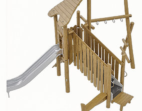 3D asset Playground Equipment 069