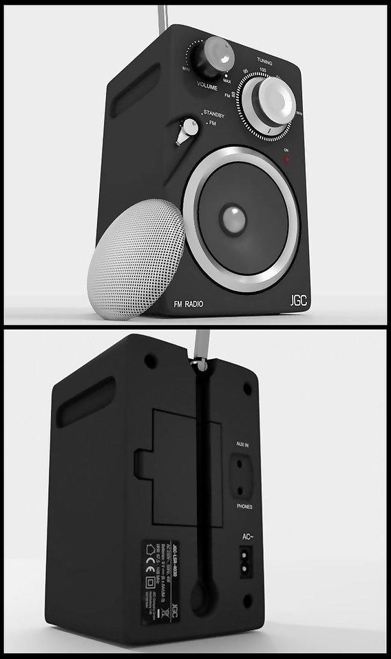 Small JGC Radio (High-Poly)