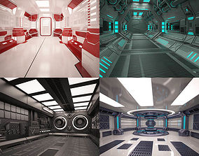 3D Sci Fi Interior Collection