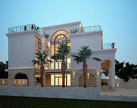 building TA01 3D Villa 001