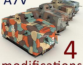 3D a7v tank