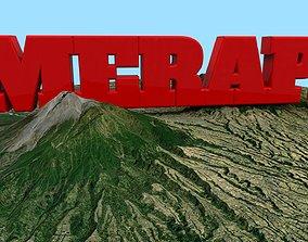 Mount Merapi 3D model
