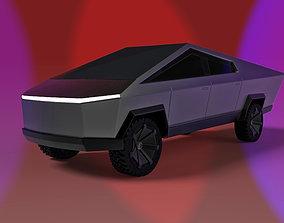 3D model Cybertruck by Elon Musk musk