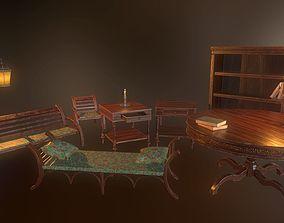 3D model PBR Furniture pack