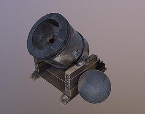 Mortar 3D model PBR