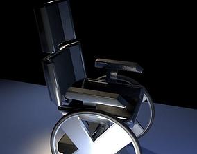 Professor Xavier wheelchair 3D model