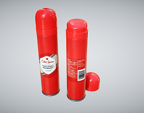 Old Spice Body Spray 3D asset