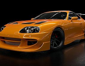 toyota supra mk4 tuning 3D model