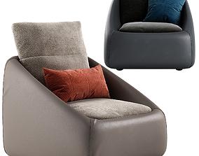 3D model Ditre italia Bend armchair