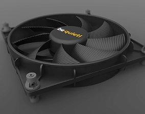 3D model Be Quiet Shadow Wings 140mm Fan