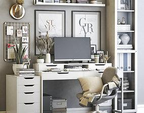 Office workplace 63 3D model