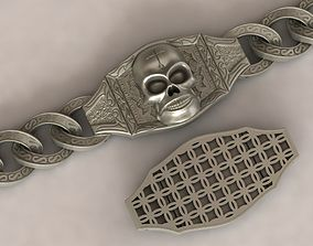 Biker bracelet 3D printable model