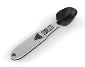 3D model Electronic LCD Digital Spoon