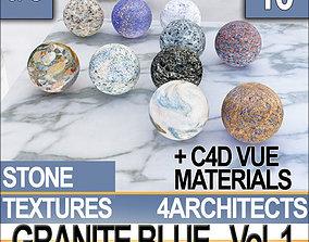 Granite Blue and Materials Vol 1 3D model