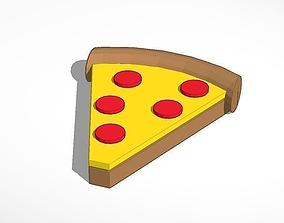3D print model pizza