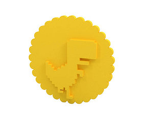 Cookie stamp - Stamp cutter 3D printable model
