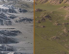 Snowy Valley MTH068 3D model