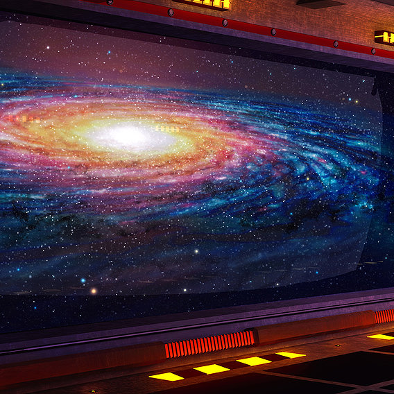 Vision of the Immensity of Space