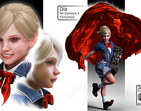 3D model Dia for Daz Studio