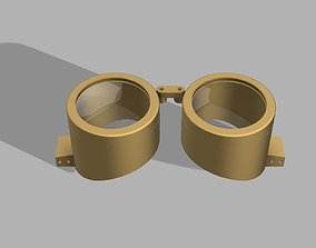 Steampunk Goggles for Costume and Cosplay 3D print model