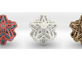 Hedron stars Nest 3D printable model